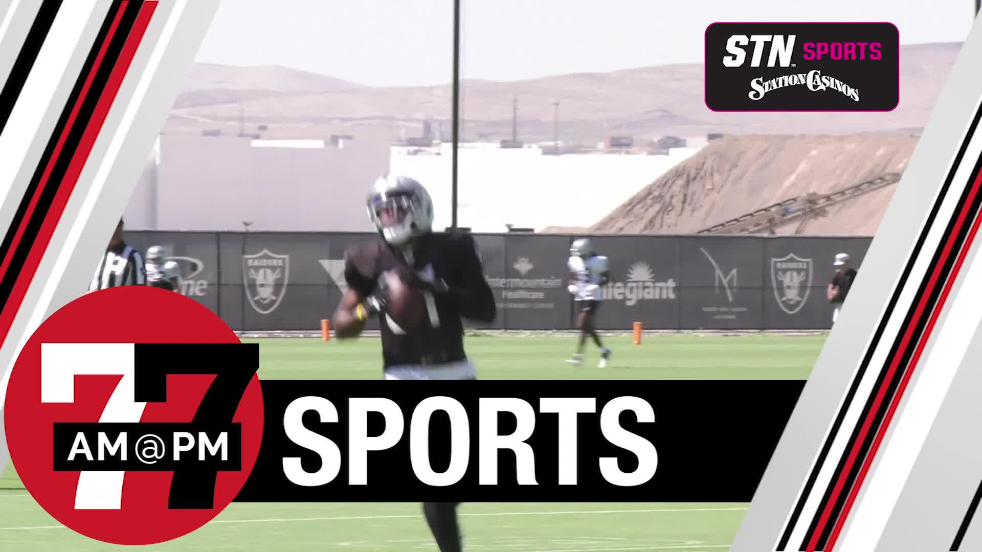 7@7PM Barber Carves Out Role in Raiders Offense