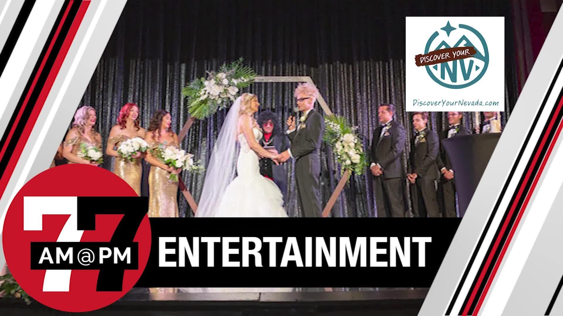 7@7PM Magic Vegas Wedding