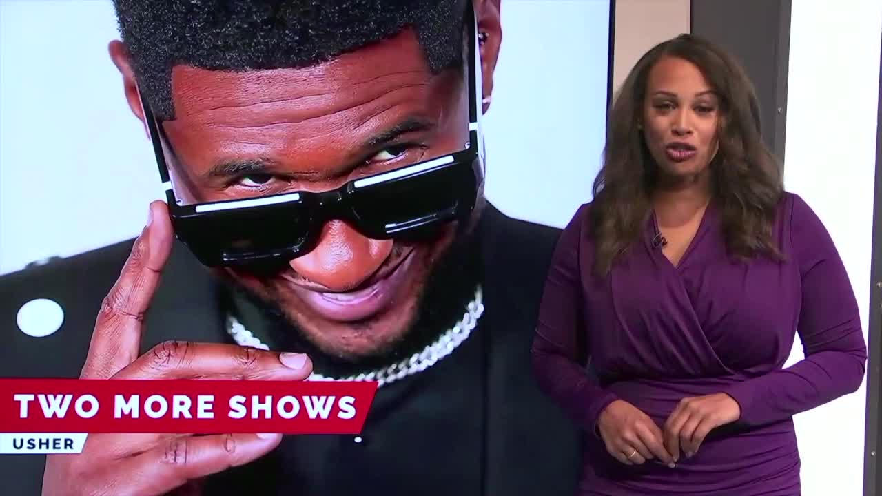 7@7AM Usher Adds More Shows