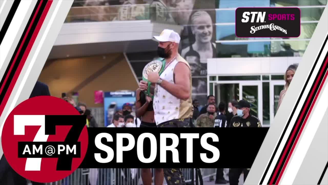7@7AM Heavyweight Arrivals In Vegas
