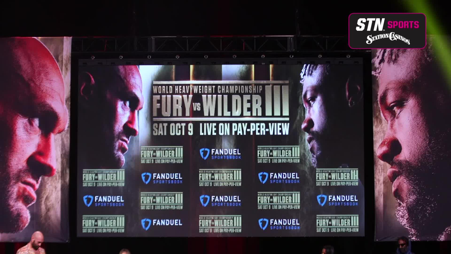 7@7PM Fury Wilder 3 Weigh-Ins