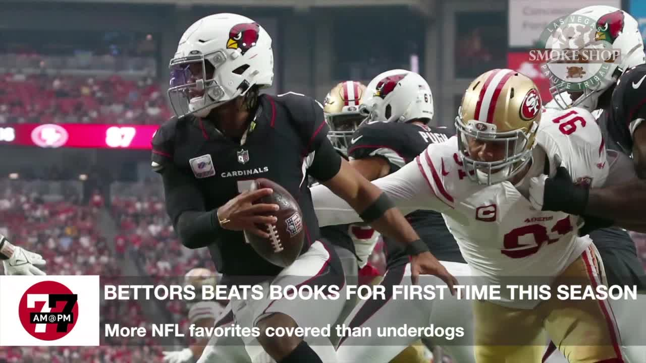 7@7AM More NFL Favorites Than Underdogs
