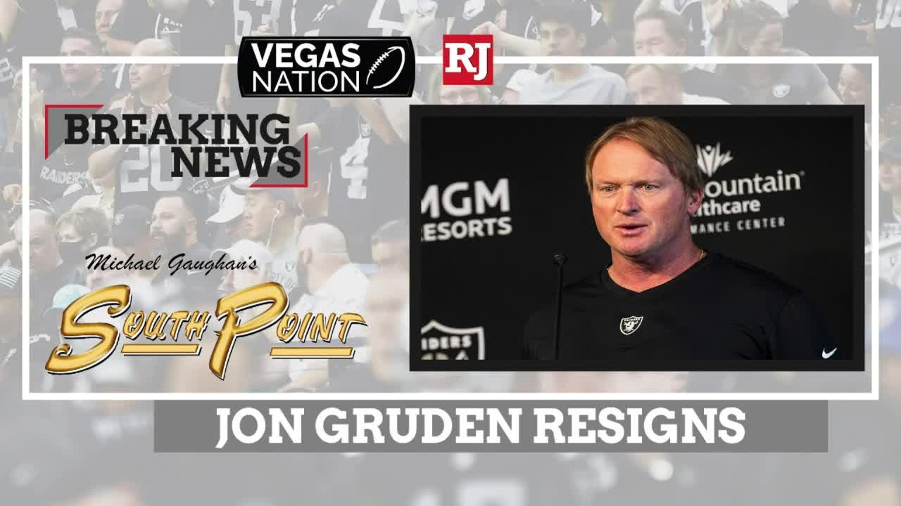 Raiders Coach Jon Gruden Resigns