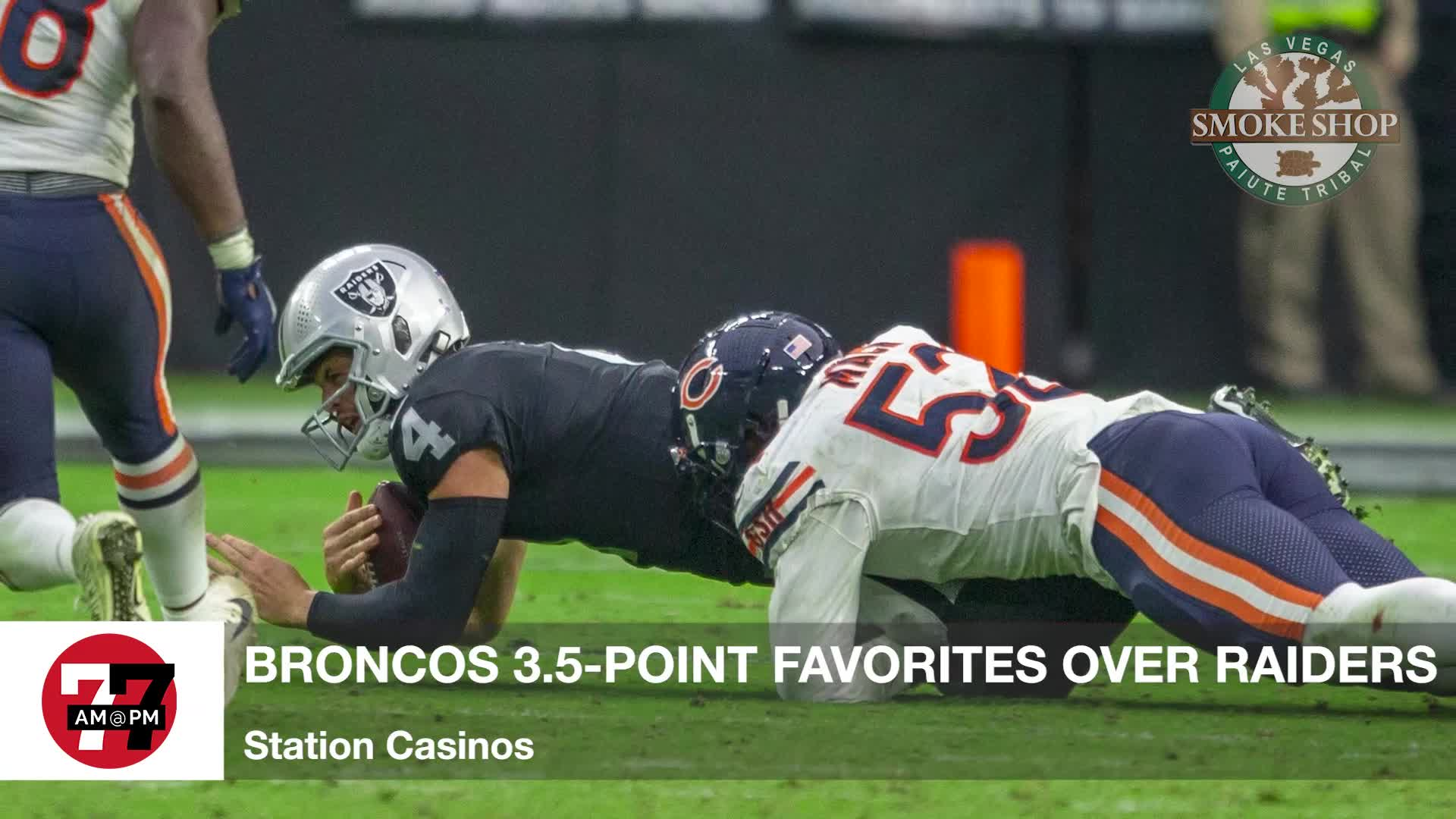 7@7PM Broncos 3.5-Point Favorite Over Raiders