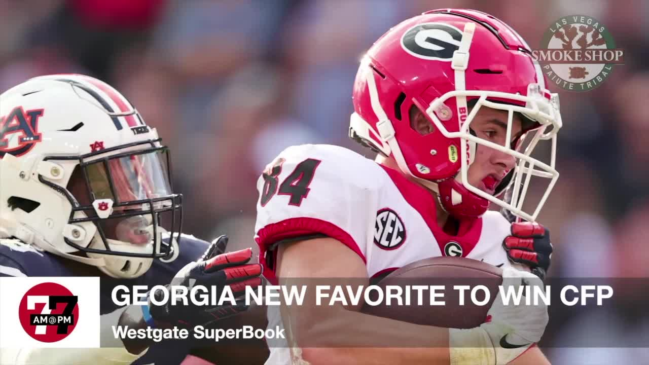 7@7AM Georgia Favored to Win CFP