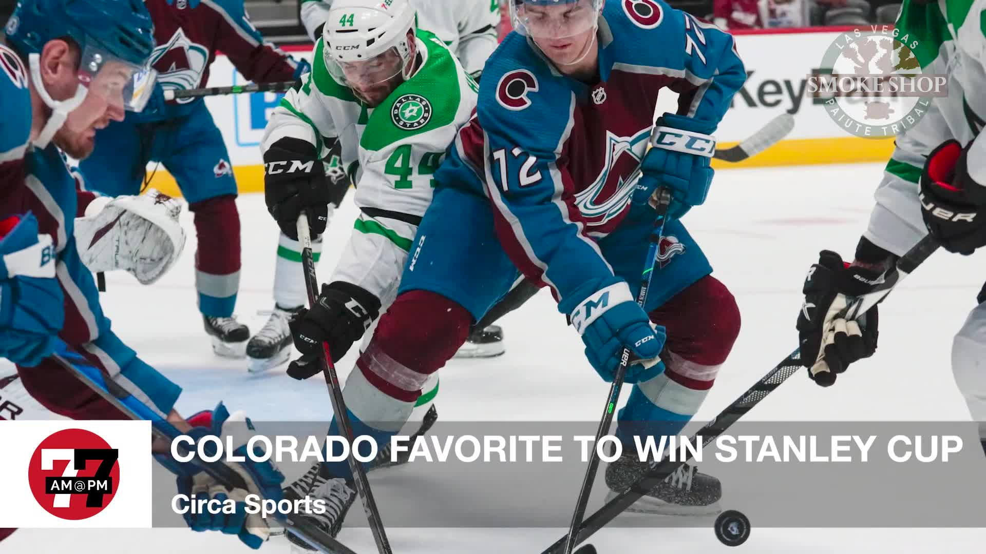 7@7PM Colorado Favorites to Win Stanley Cup