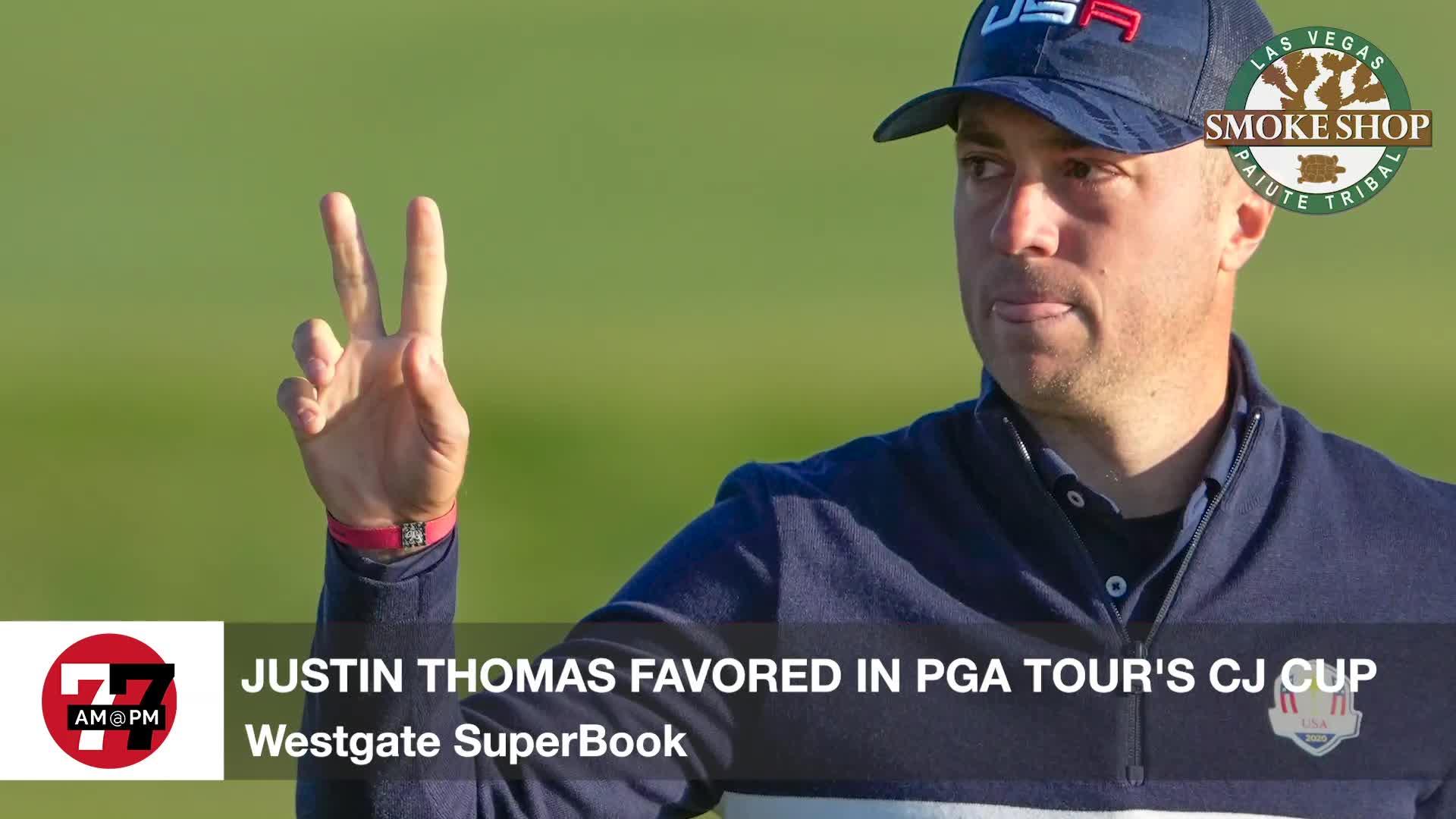 7@7PM PGA Tour's CJ Cup Odds