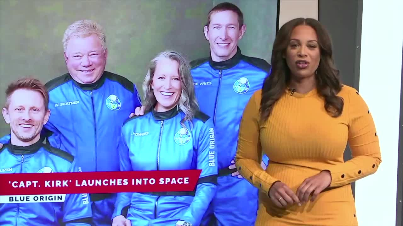 7@7AM 'Capt. Kirk' Launches Into Space
