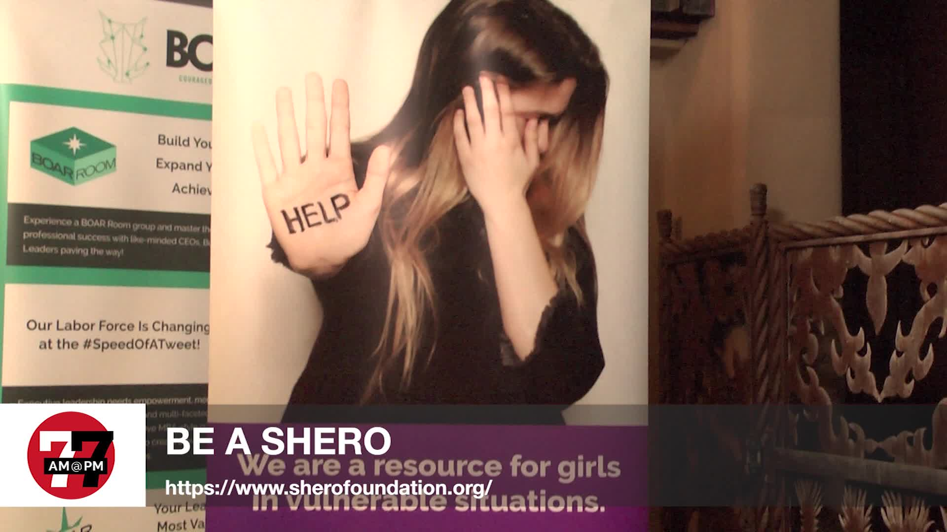 7@7PM Be a Shero