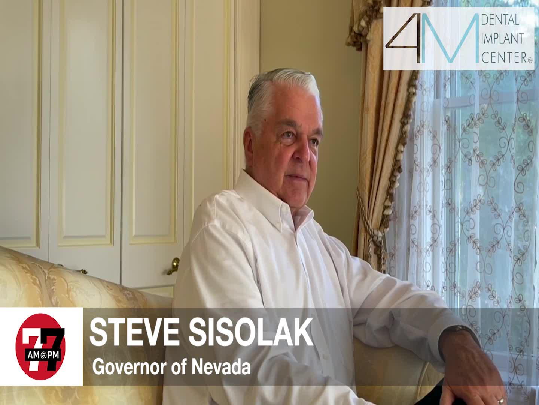 7@7PM Governor Sisolak Speaks on Pandemic