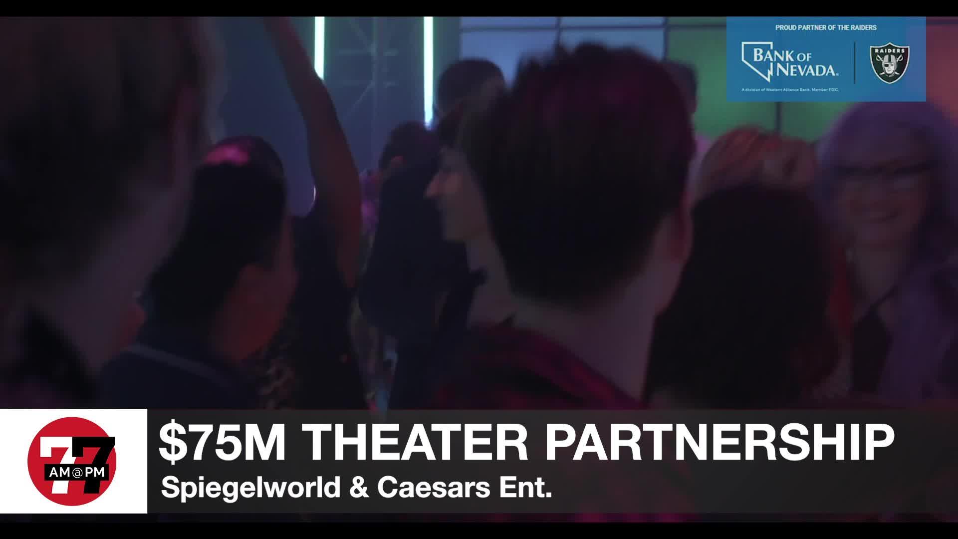 7@7PM $75M Theater Partnership