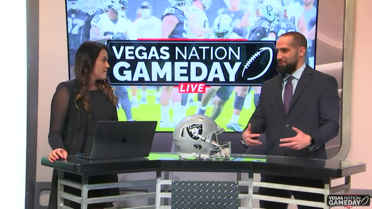 Vegas Nation Gameday Live | Raiders look for win after Jon Gruden resignation