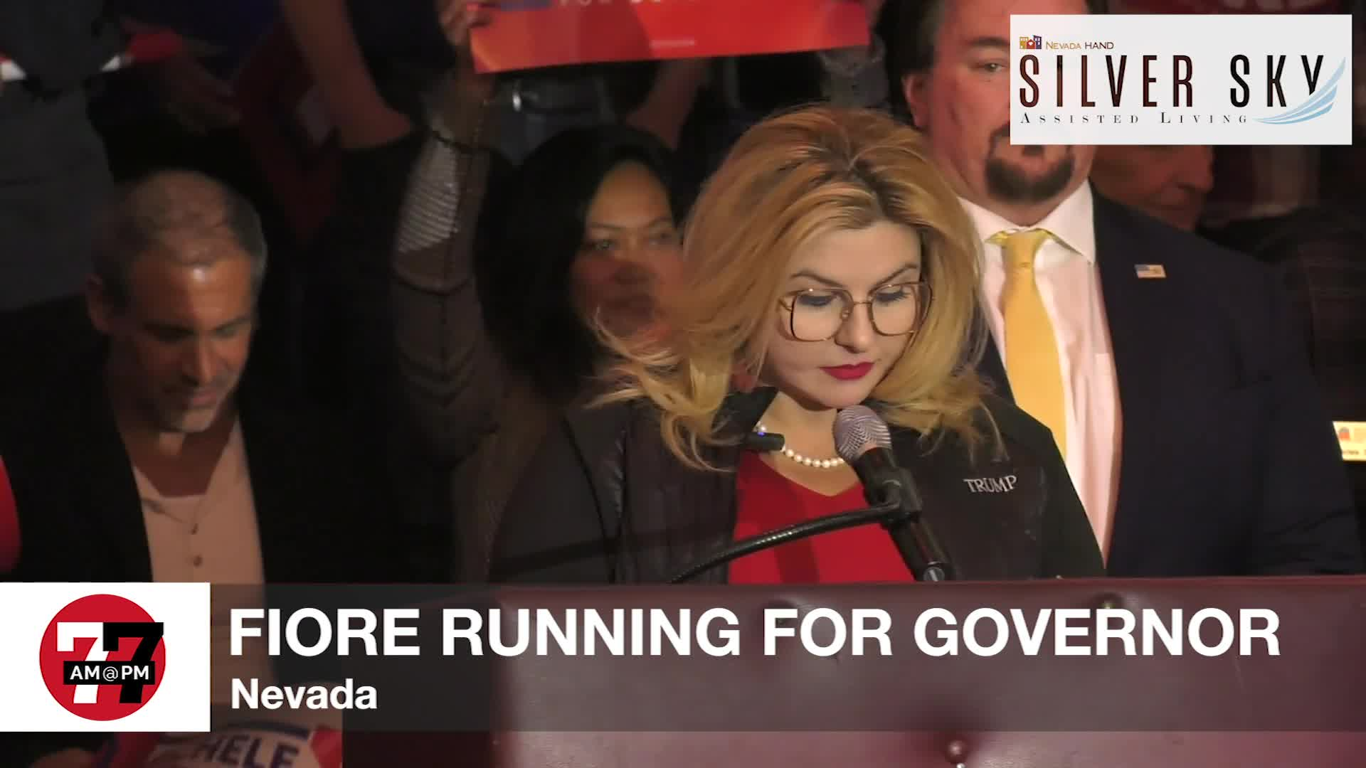 7@7PM Fiore Running for Governor